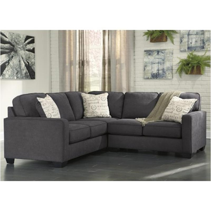 1660166 Ashley Furniture Alenya Charcoal Living Room Laf
