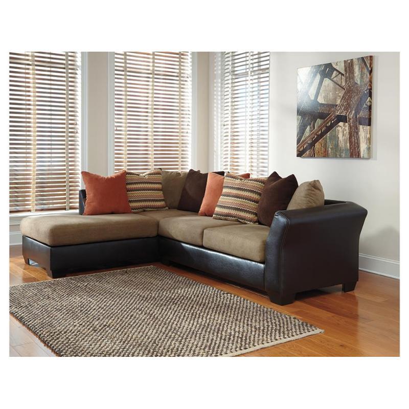 2020216 Ashley Furniture Armant Mocha Laf Corner Chaise