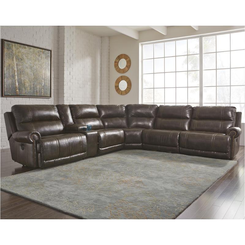 2270019 Ashley Furniture Dak Durablend Antique Armless Recliner