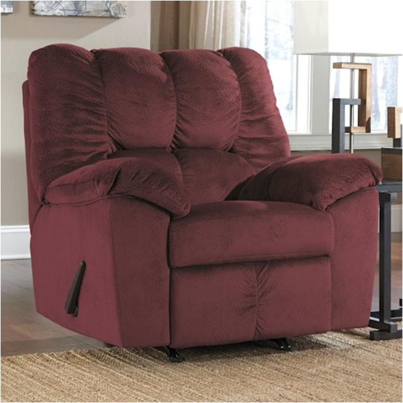 rustic julson burgundy living room set | 2660225 Ashley Furniture Julson - Burgundy Rocker Recliner