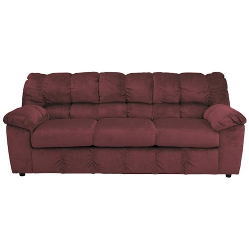 rustic julson burgundy living room set | 2660238 Ashley Furniture Julson - Burgundy Living Room Sofa