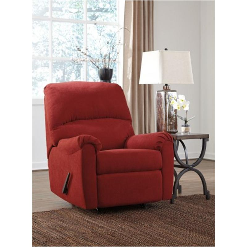 2710225 Ashley Furniture Zeth Crimson Rocker Recliner