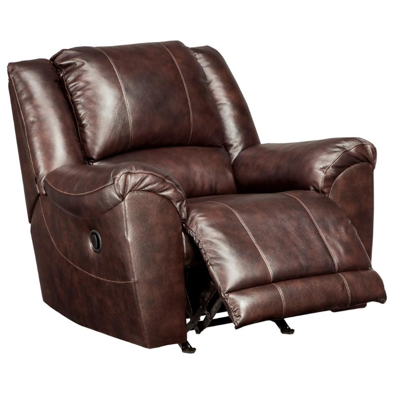 2920025 Ashley Furniture Yancy   Walnut Living Room Recliner