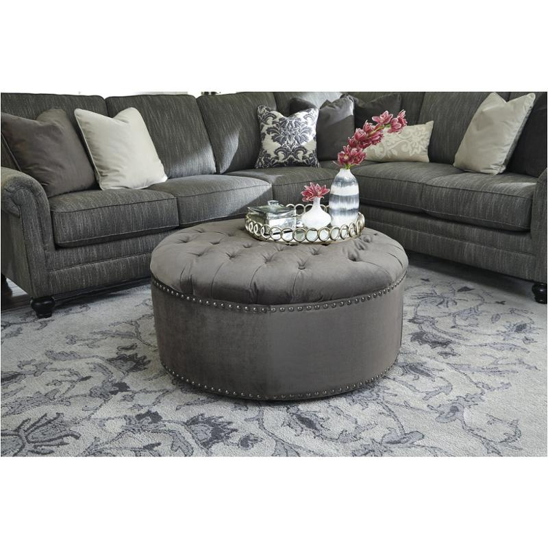 Admirable 2970108 Ashley Furniture Kittredge Graphite Oversized Accent Ottoman Alphanode Cool Chair Designs And Ideas Alphanodeonline