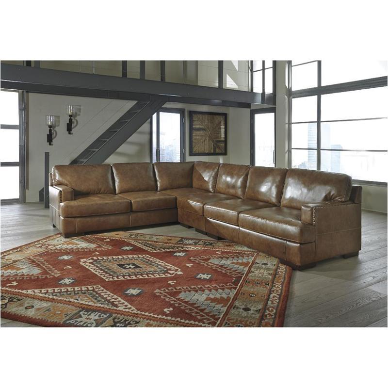 3040166 Ashley Furniture Vincenzo Nutmeg Living Room Laf Sofa