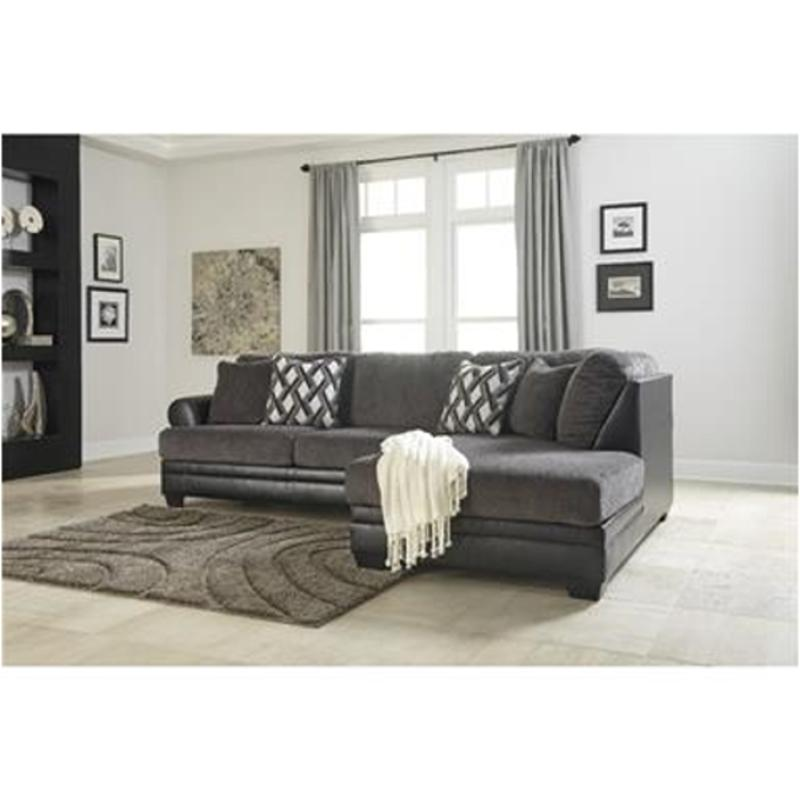 3220266 Ashley Furniture Asi Smoke Laf Sofa