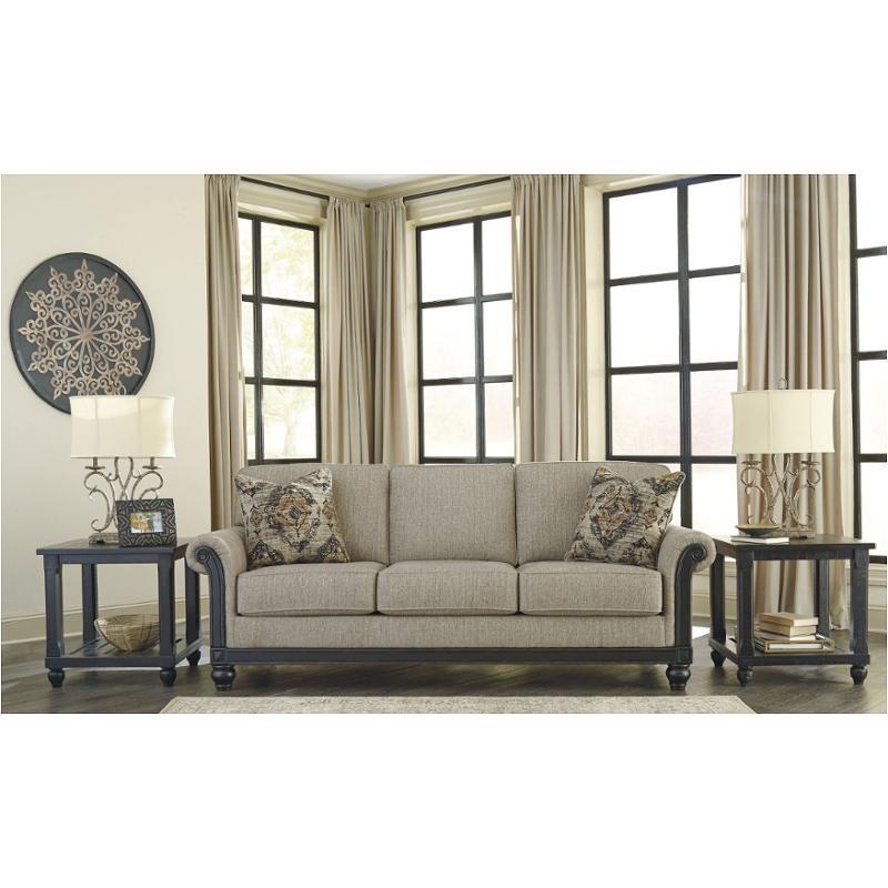 3350338 Ashley Furniture Blackwood Taupe Living Room Sofa