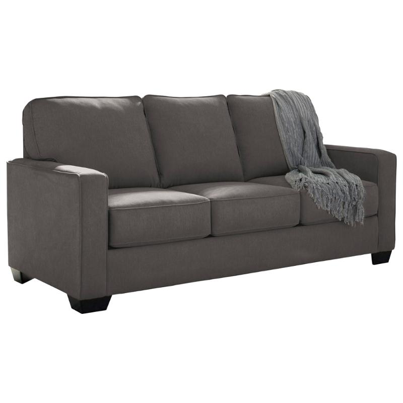 3590136 Ashley Furniture Zeb Charcoal Living Room Sleeper