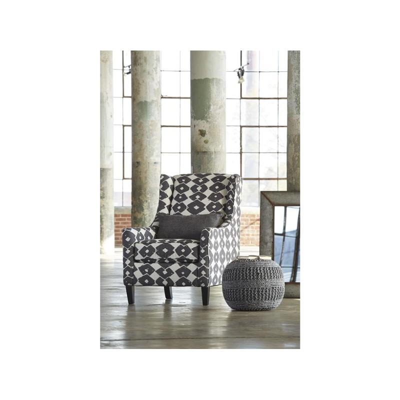 3770221 Ashley Furniture Brace Granite Accent Chair