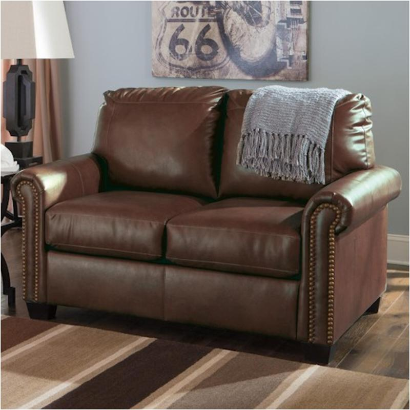 3800037 Ashley Furniture Lottie Durablend   Chocolate Living Room Living  Room Chair