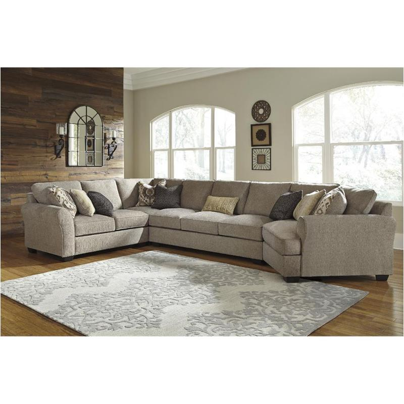 3910277 Ashley Furniture Pantomine   Driftwood Living Room Sectional