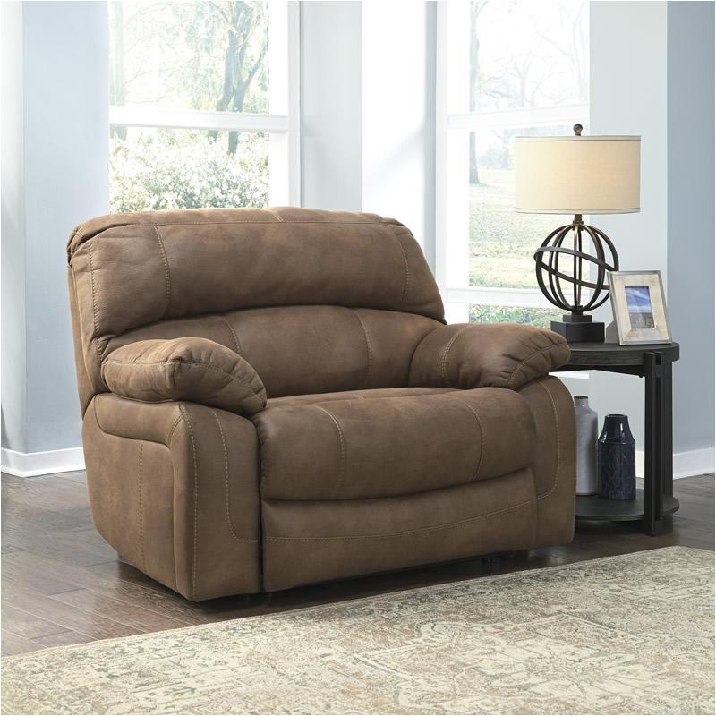 & 4290252 Ashley Furniture Zavier - Saddle Wide Seat Recliner islam-shia.org