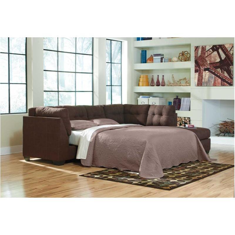 4520110 Ashley Furniture Maier Walnut Laf Full Sofa Sleeper