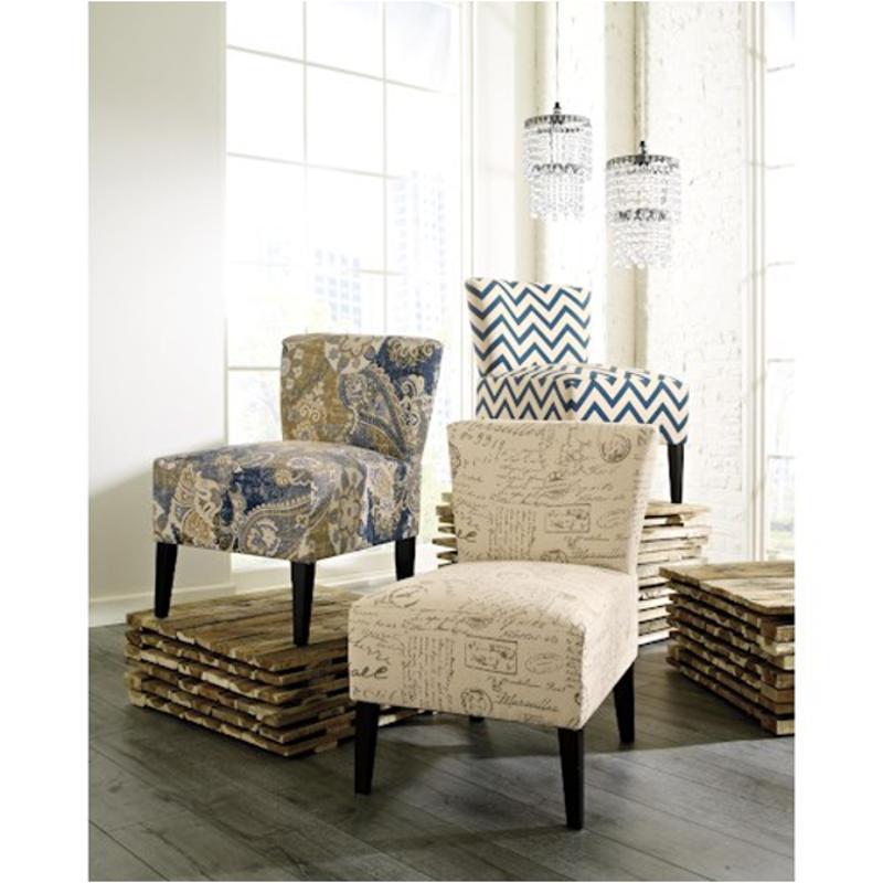Ashley Furniture Ravity Denim Living Room Accent Chair
