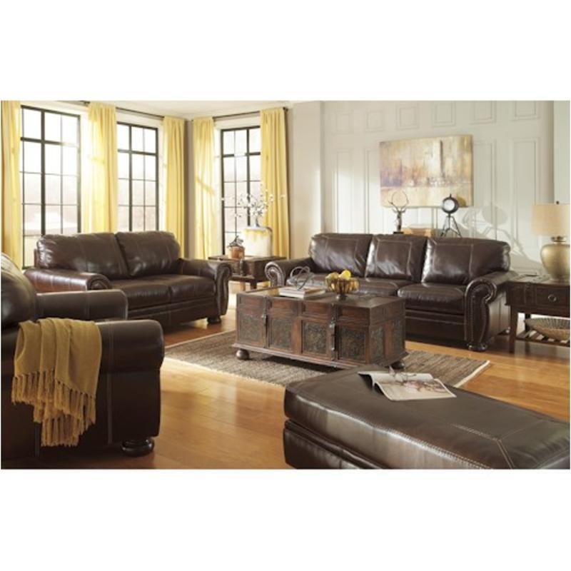 5040439 Ashley Furniture Banner - Coffee Queen Sofa Sleeper
