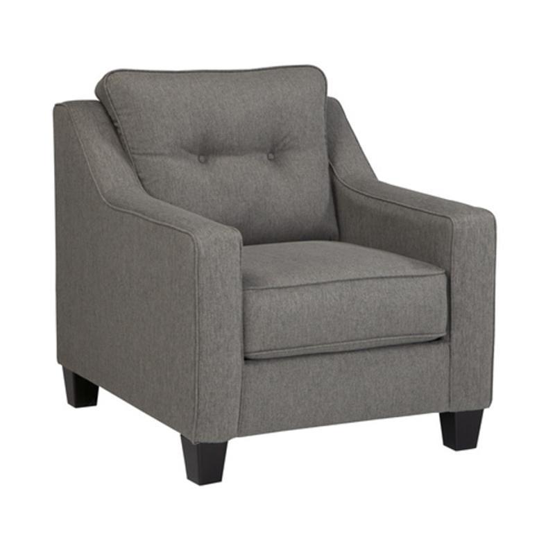 5390120 Ashley Furniture Brindon   Charcoal Chair