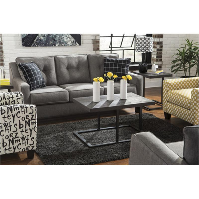 charcoal living room furniture 5390138 furniture brindon charcoal living room sofa 12794