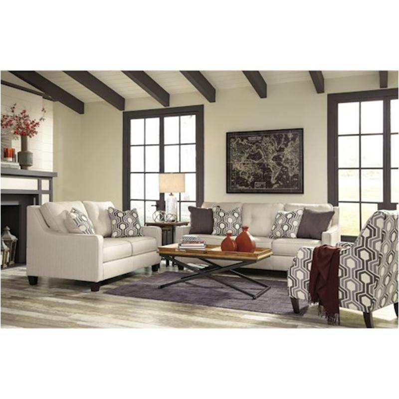 7180138 Ashley Furniture Guillerno Alabaster Living Room Sofa
