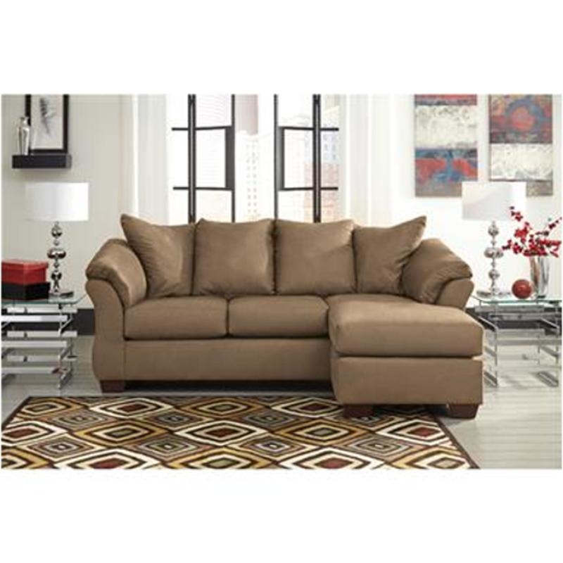 Sensational 7500218 Ashley Furniture Darcy Mocha Sofa Chaise Home Remodeling Inspirations Basidirectenergyitoicom