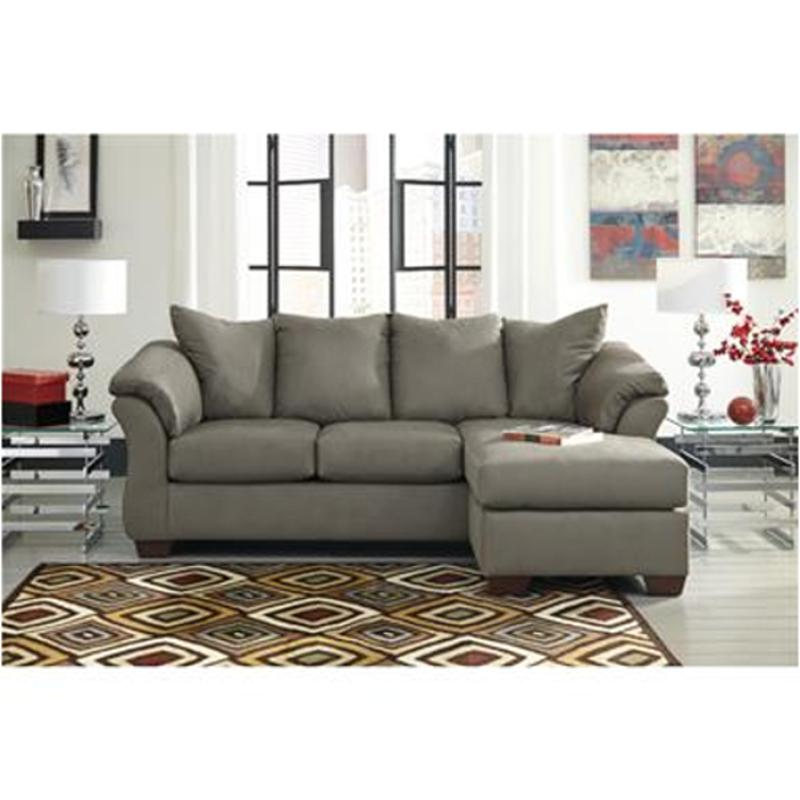 Superb 7500518 Ashley Furniture Darcy Cobblestone Sofa Chaise Download Free Architecture Designs Scobabritishbridgeorg