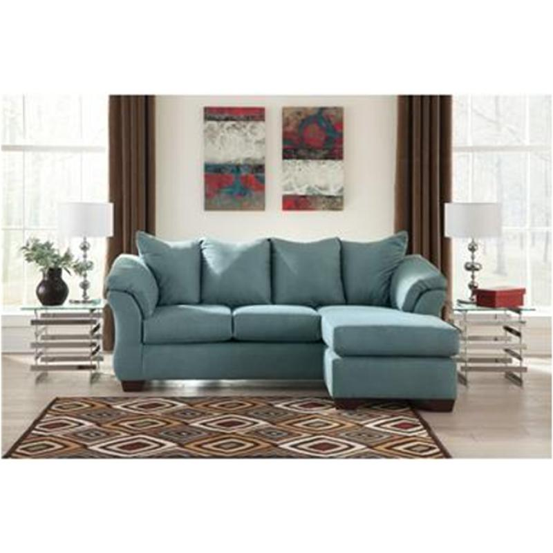 7500618 Ashley Furniture Darcy Sky Living Room Sofa Chaise