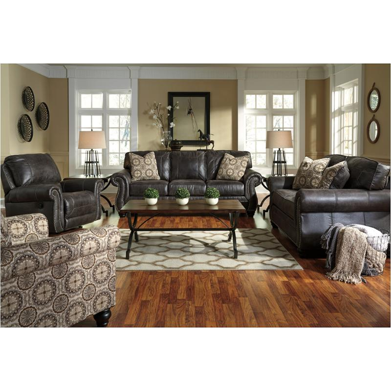8000438 Ashley Furniture Breville Charcoal Living Room Sofa