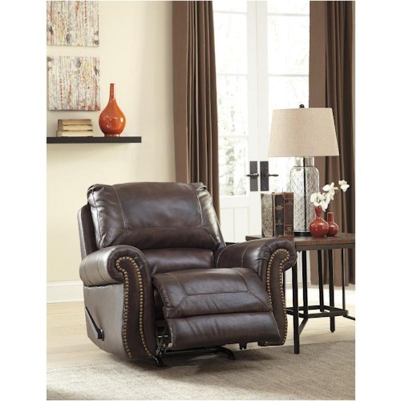 Groovy 8220225 Ashley Furniture Bristan Walnut Rocker Recliner Unemploymentrelief Wooden Chair Designs For Living Room Unemploymentrelieforg