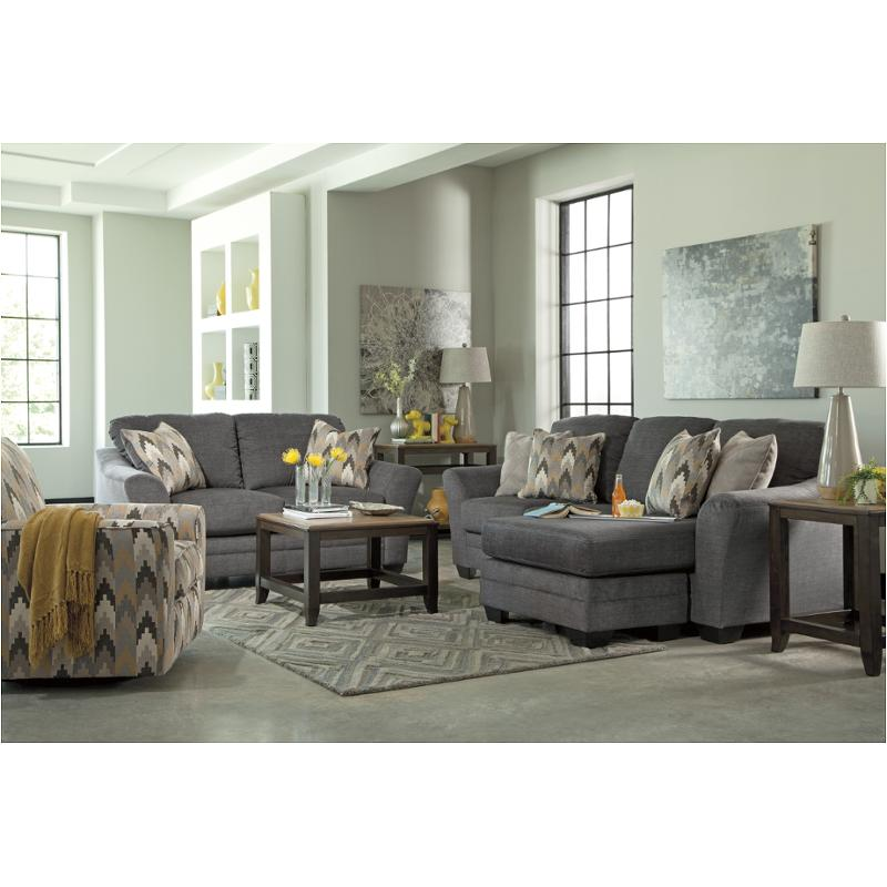 8850218 Ashley Furniture Braxlin Charcoal Living Room Sofa