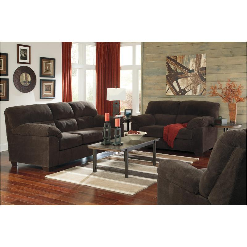 9450138 Ashley Furniture Zorah Chocolate Living Room Sofa