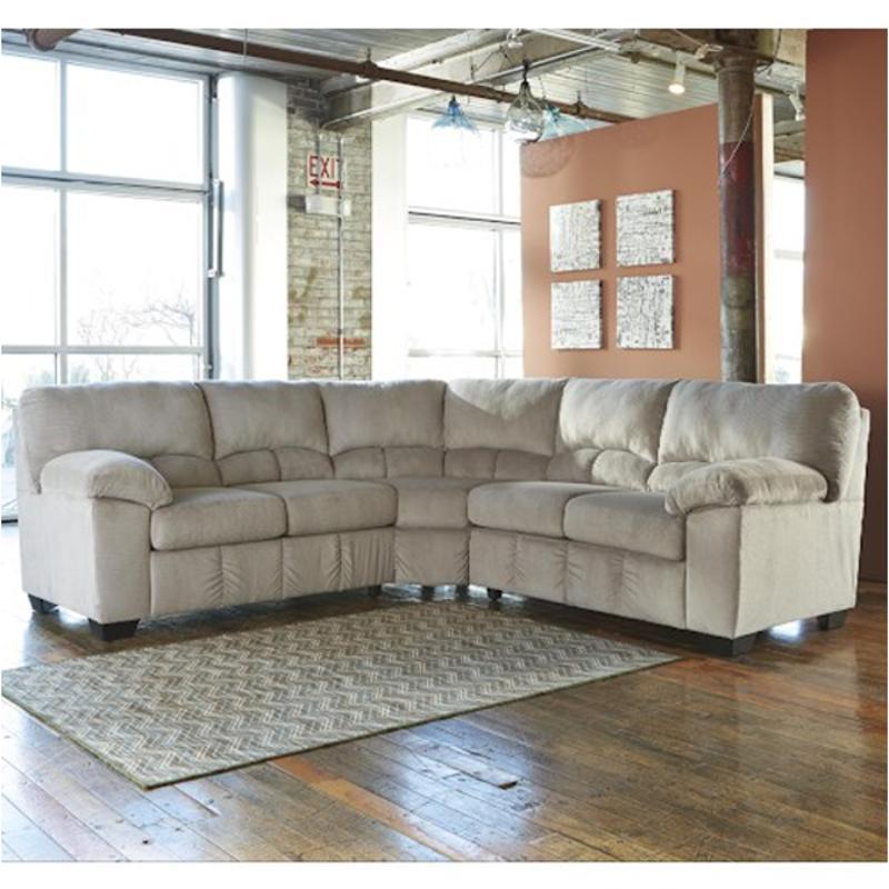 Ashley Furniture Massachusetts: 9540155 Ashley Furniture Laf Loveseat With Half Wedge