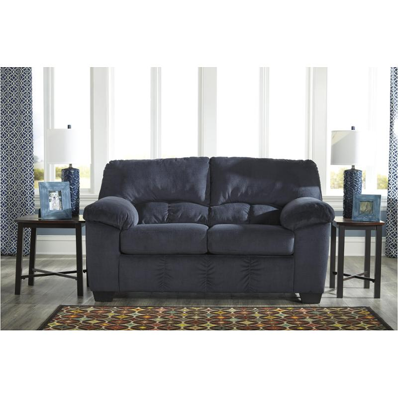 ashley furniture dailey midnight living room loveseat