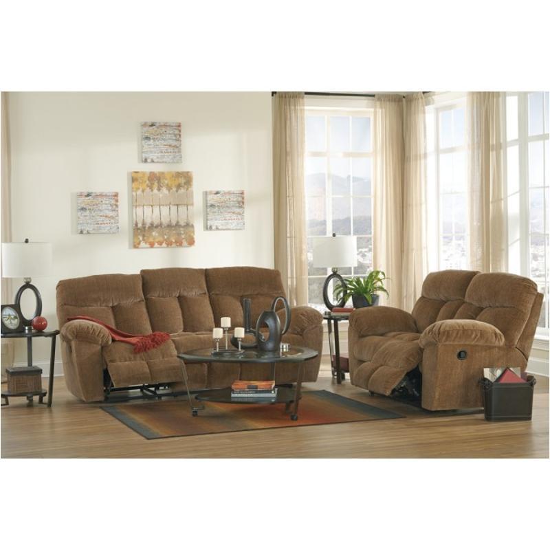 Excellent 9790388 Ashley Furniture Hector Caramel Reclining Sofa Beatyapartments Chair Design Images Beatyapartmentscom