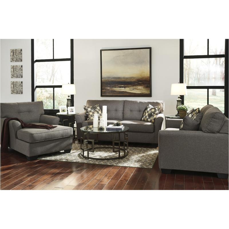 9910138 ashley furniture tibbee slate living room sofa