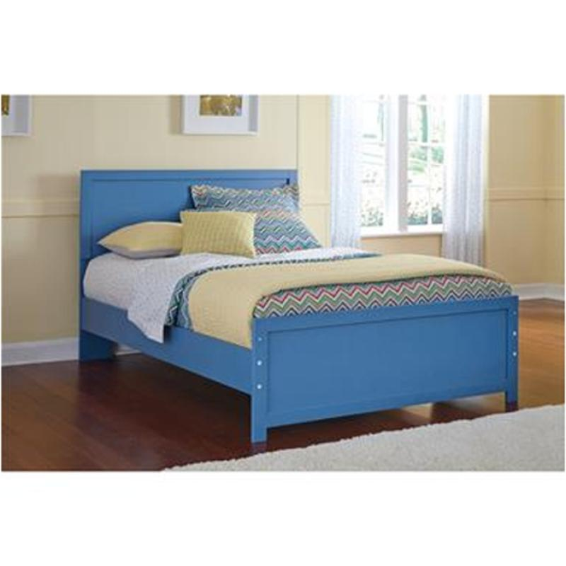 B045-87 Ashley Furniture Bronilly - Blue Full Panel Bed