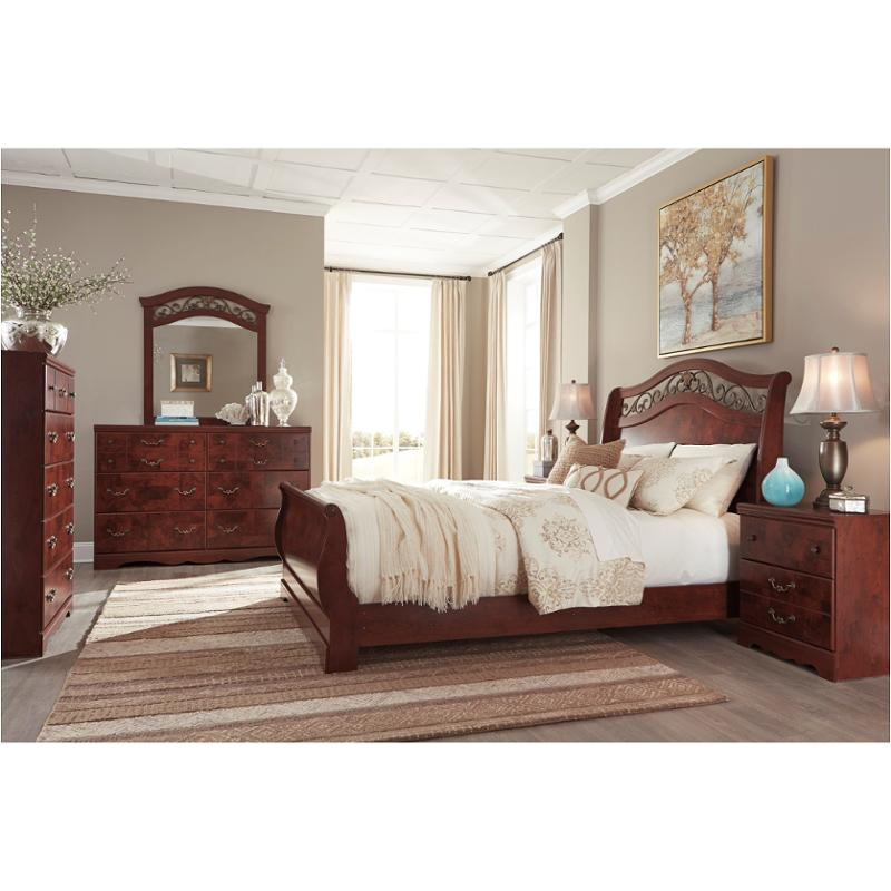 B223 77 ashley furniture queen sleigh bed for Ashley furniture sleigh bedroom set