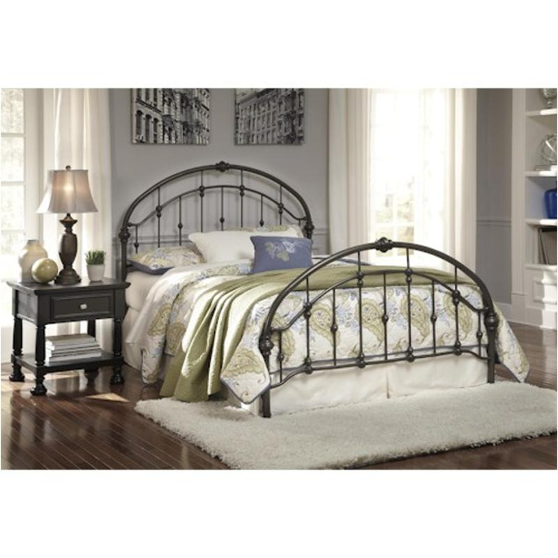 Groovy B280 181 Ashley Furniture Nashburg Multi Queen Metal Headboard Footboard Rails Beutiful Home Inspiration Truamahrainfo