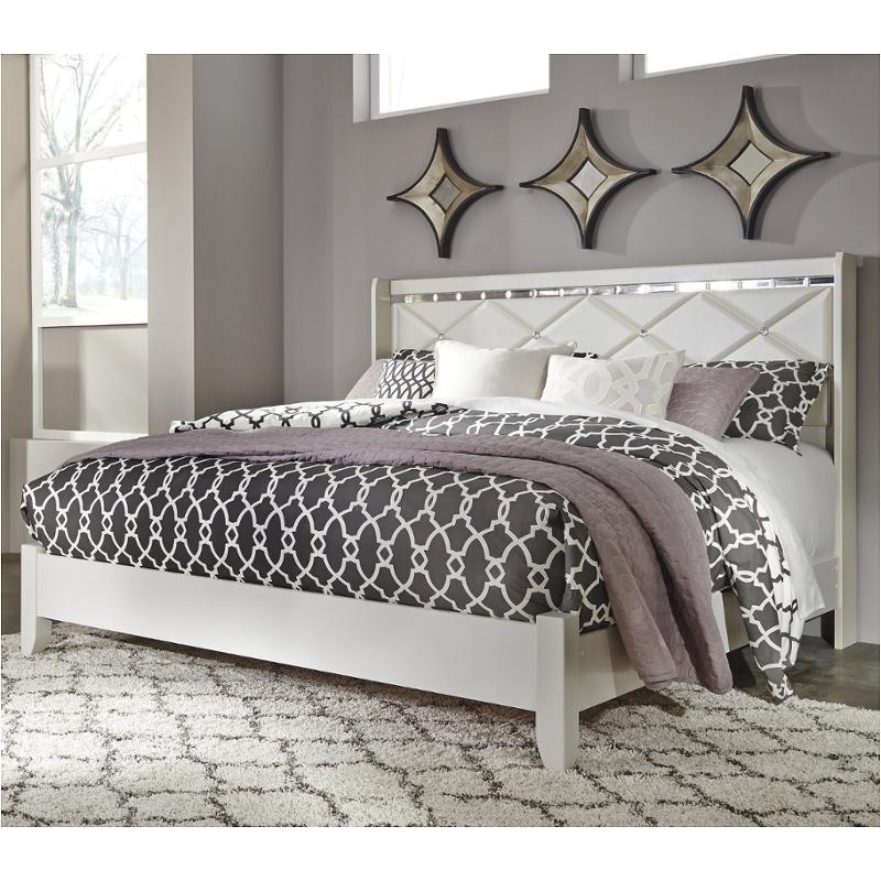 B351 58 Ashley Furniture Dreamur   Champagne Bedroom Bed