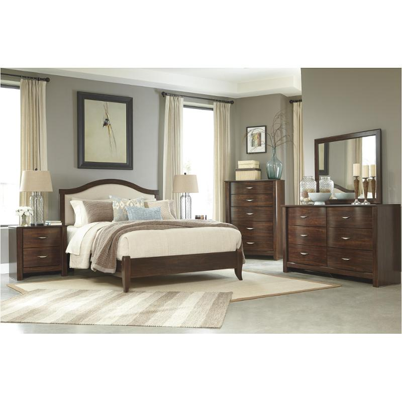 B428-57 Ashley Furniture Queen Upholstered Panel Bed