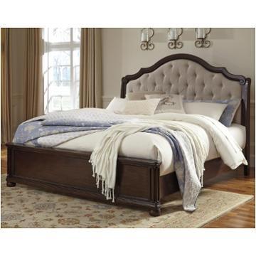 B596 58 Ck Ashley Furniture Moluxy Dark Brown Bed