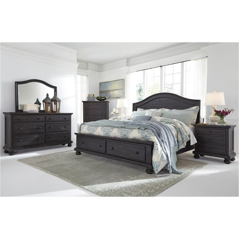 Ashley Furniture California: B635-58 Ashley Furniture King/california King Panel Bed