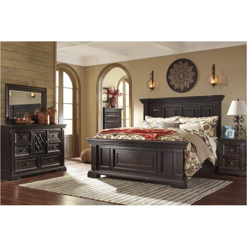 Superb B643 57 Ashley Furniture Willenburg   Dark Brown Bedroom Bed
