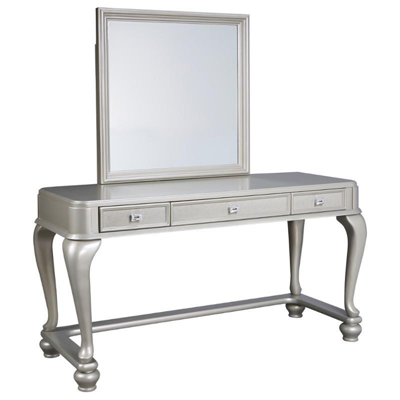 B650 25 Ashley Furniture Coralayne   Silver Bedroom Bed