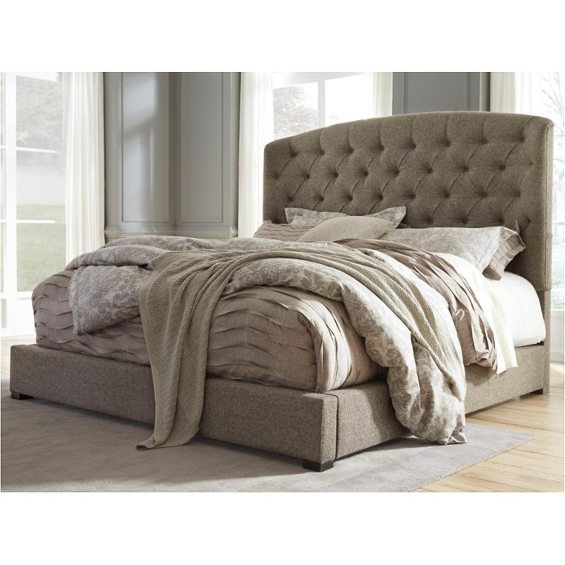 B657 77 Ashley Furniture Queen Upholstered Bed
