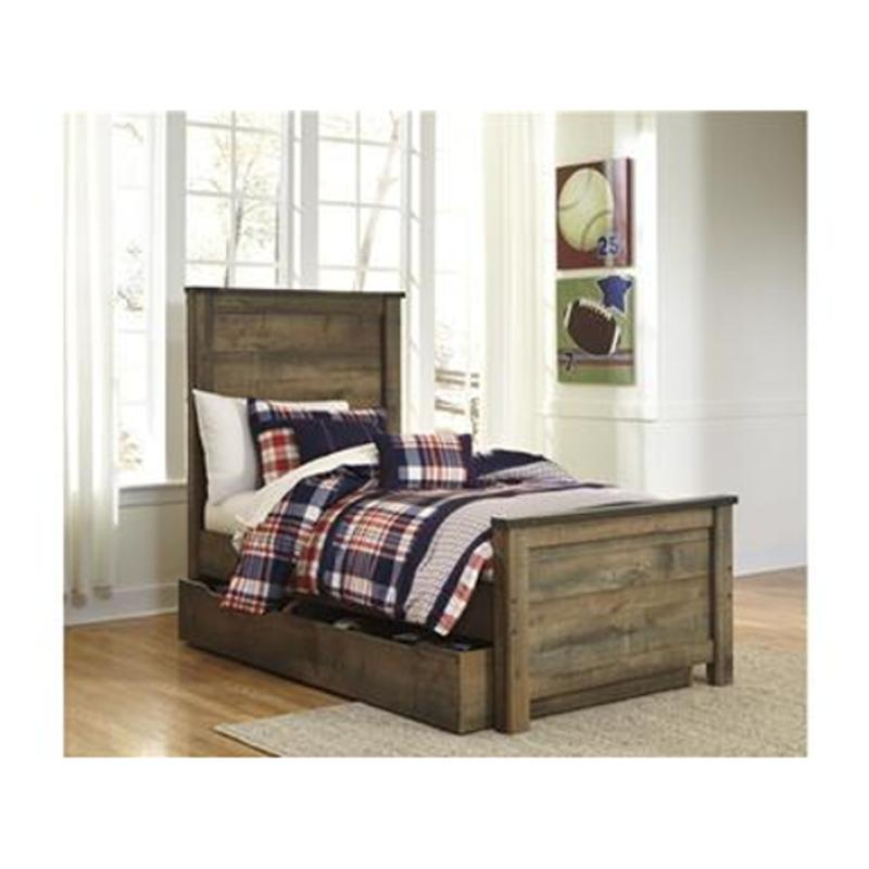 B446 60 Ashley Furniture Trinell Brown Bedroom Bed