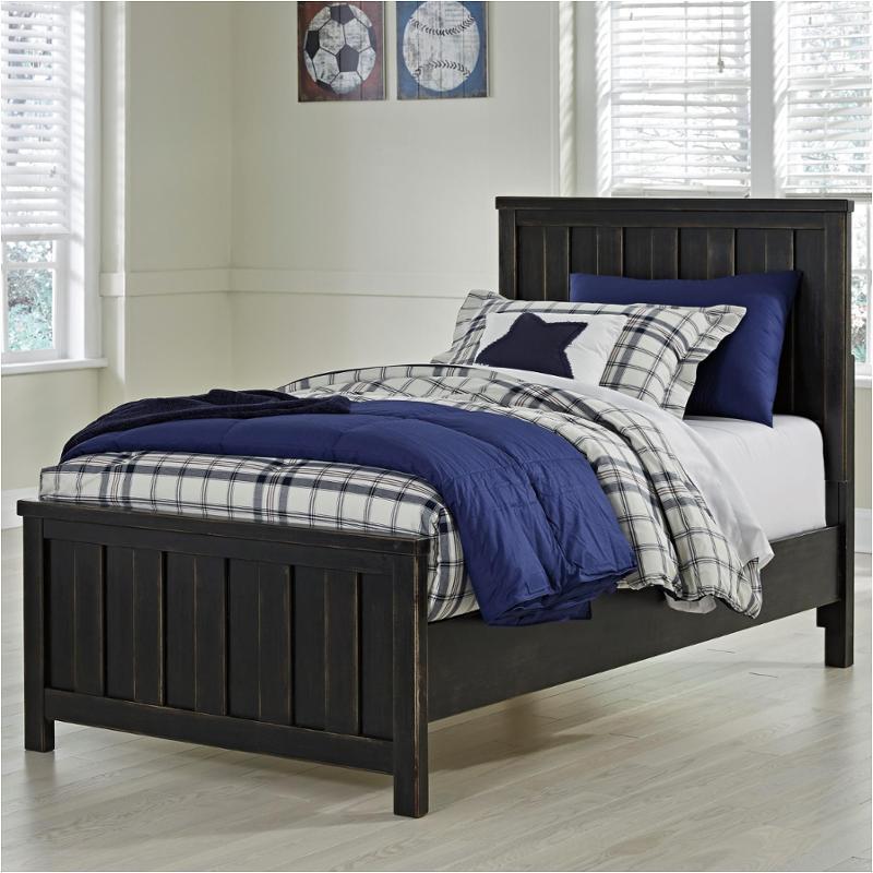 B521 53 Ashley Furniture Jaysom Black Kids Room Twin