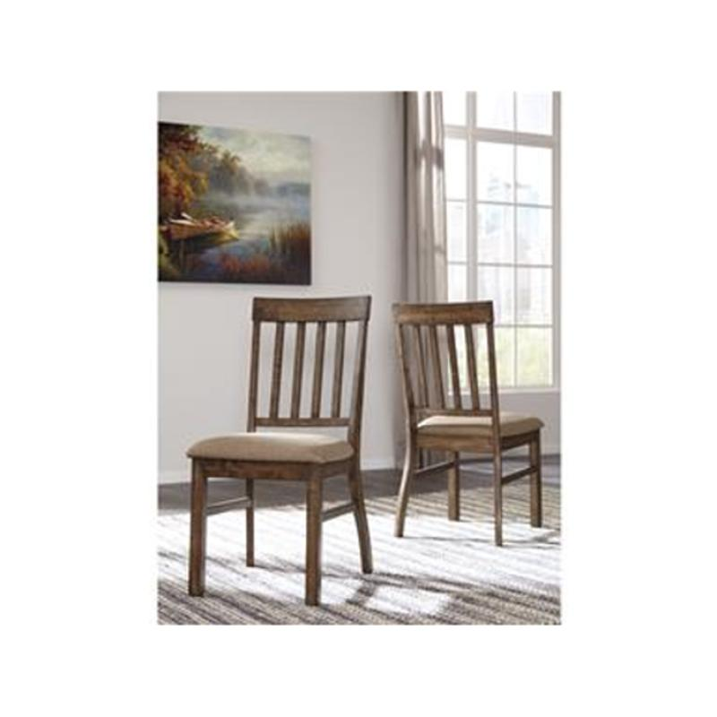 D448 01 Ashley Furniture Dining Upholstered Side Chair