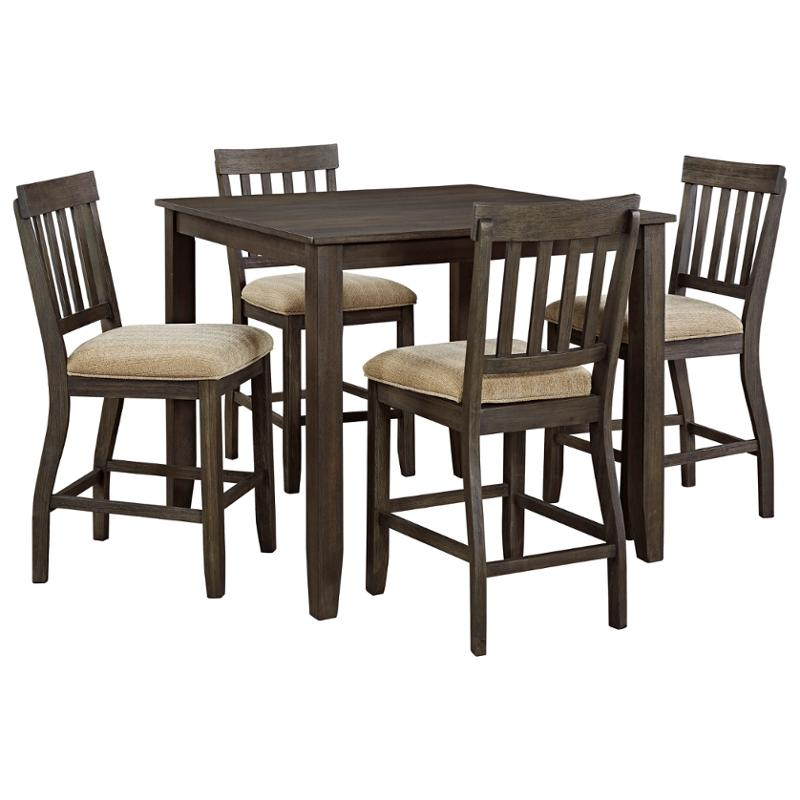 Ashley Dining Tables: D485-13 Ashley Furniture Square Dining Room Counter Table