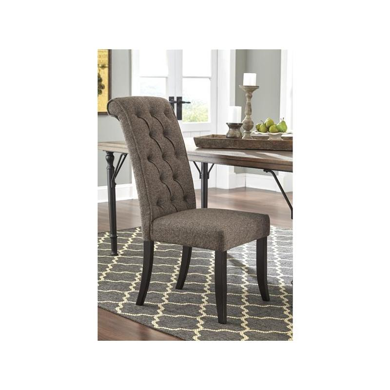 D530 02 Ashley Furniture Tripton Medium Brown Dining Room Chair