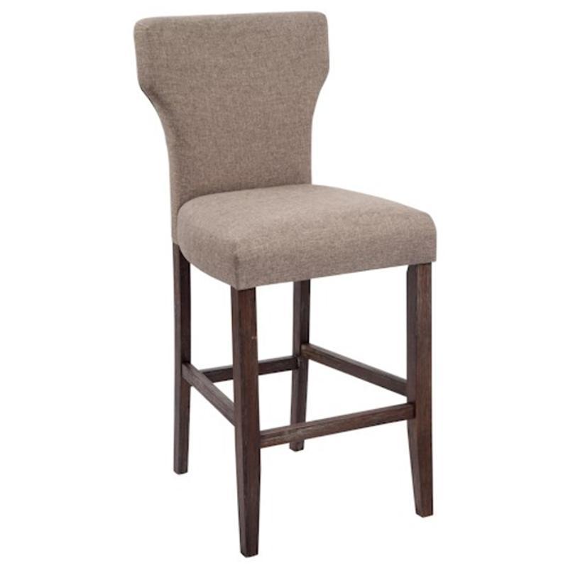 Ashley Furniture Glosco Kitchen Hutch: D548-130 Ashley Furniture Tall Upholstered Barstool