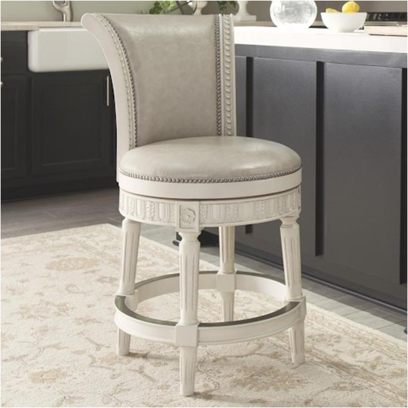 D562 224 Ashley Furniture Crenlam Antique White Dining Room Stool